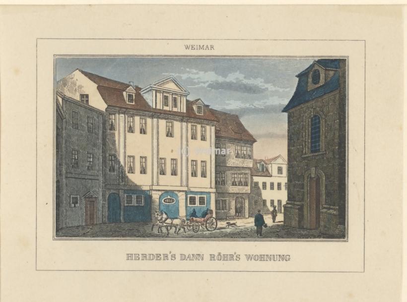 Bilderladen Weimar - historische Stiche